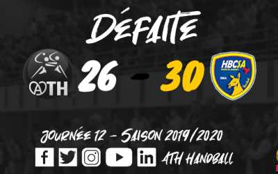 D2F : ATH Handball – Saint-Amand HBCSA