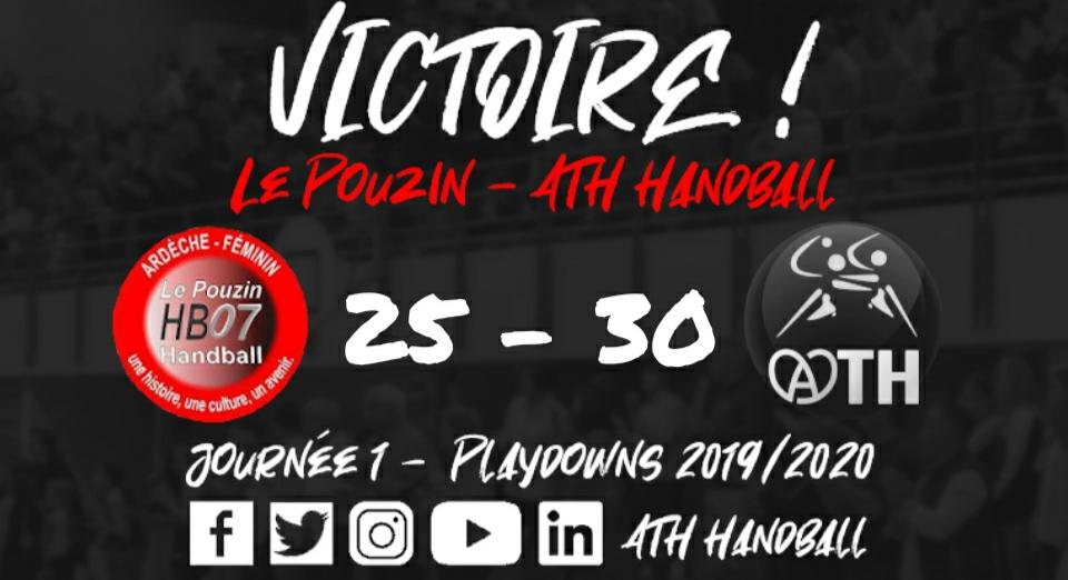 D2F : Le Pouzin – ATH Handball