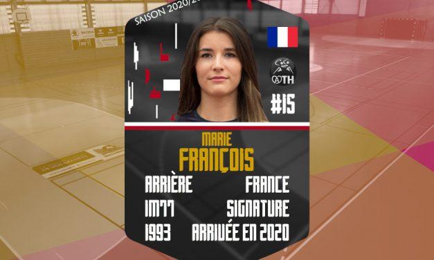 RECRUTEMENT : MARIE FRANCOIS