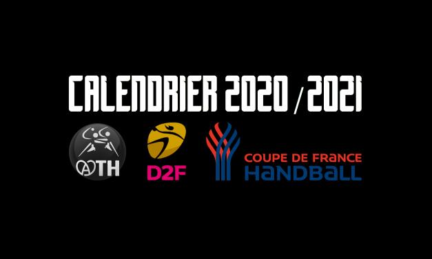 CALENDRIER 2020/2021