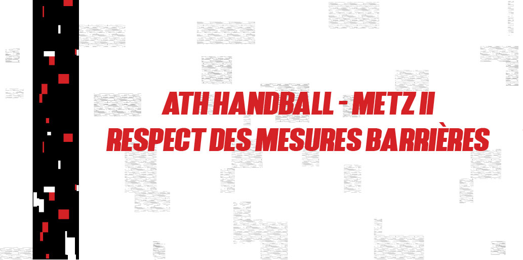 MATCH AMICAL – MESURES BARRIERES