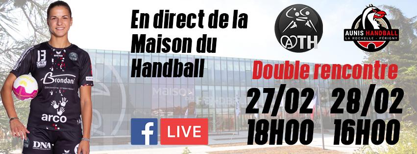 D2F : ATH HANDBALL – AUNIS LA ROCHELLE