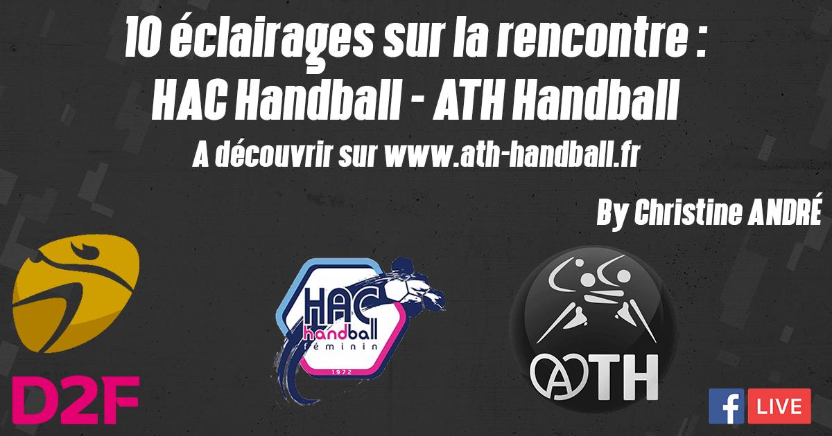 10 ECLAIRAGES : HAC HANDBALL – ATH HANDBALL