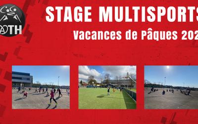STAGE MULTISPORTS DES VACANCES DE PÂQUES