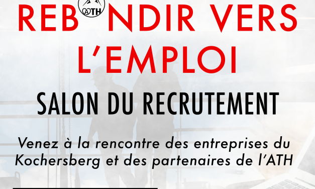 'REBONDIR VERS L'EMPLOI' – L'ATH organise un salon du recrutement
